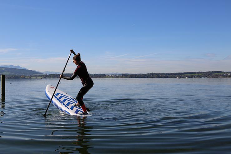Stand Up Paddle richtige Technik