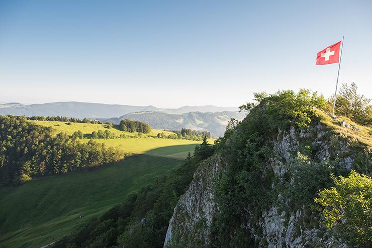 Mountainbike Tour Solothurn Vogelberg Passwang
