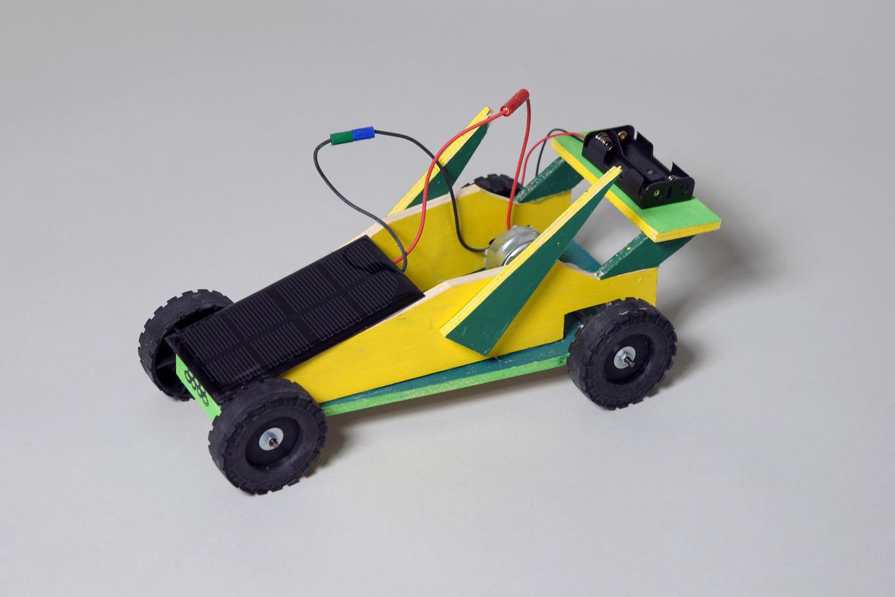 Solarauto basteln