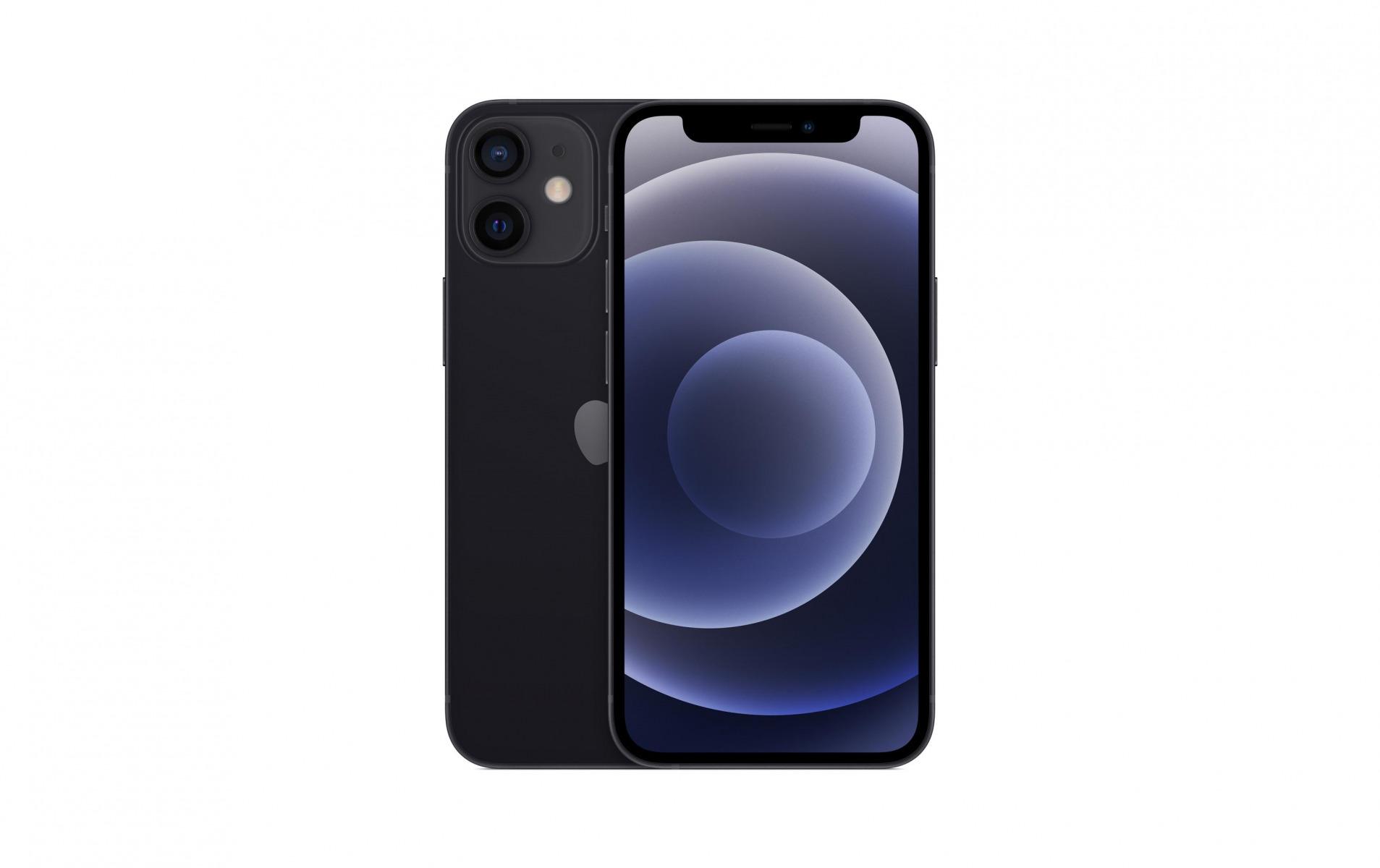Image of Apple iPhone 12 mini 128 GB Schwarz
