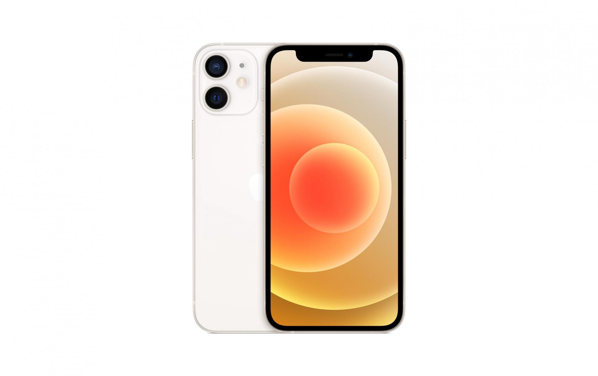 Image of Apple iPhone 12 mini 128 GB Weiss