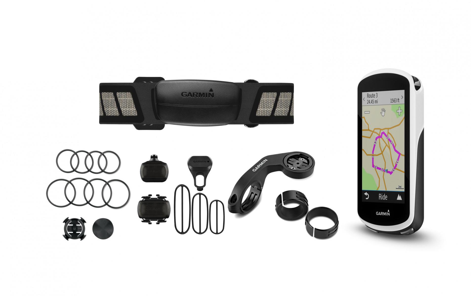 Image of GARMIN Fahrrad GPS Edge 1030 Bundle