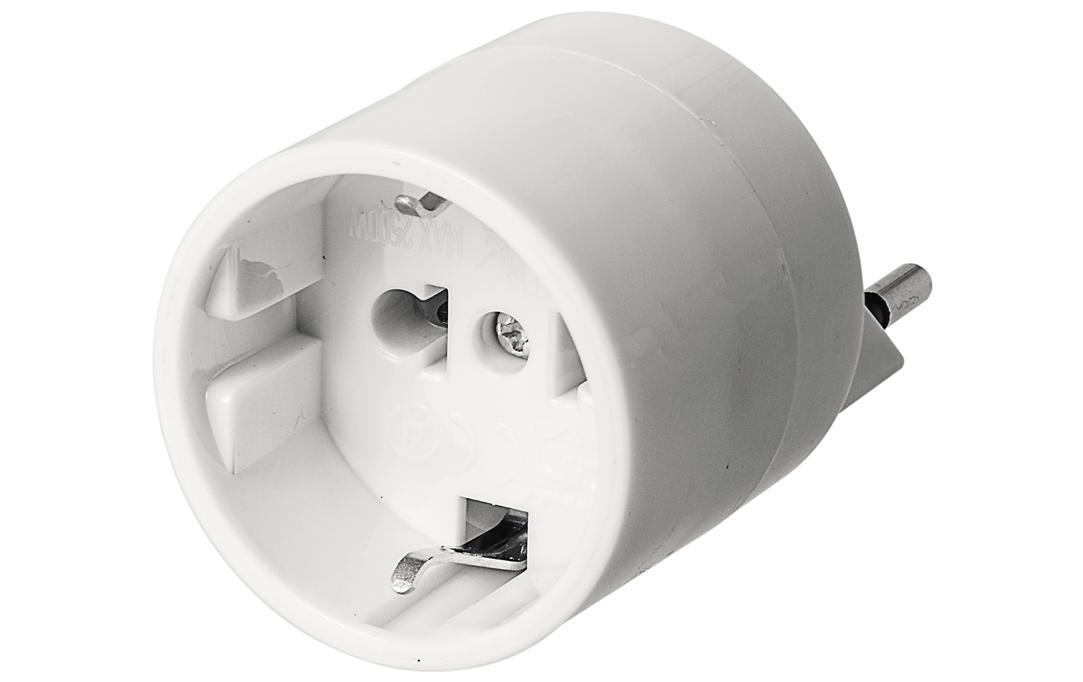 Image of Elektromaterial Reiseadapter EU - CH