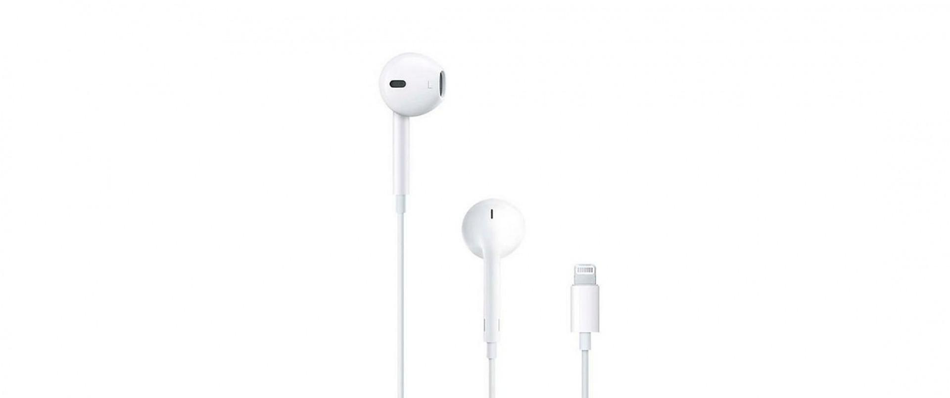 Image of Apple In-Ear-Kopfhörer EarPods Lightning Connector Weiss