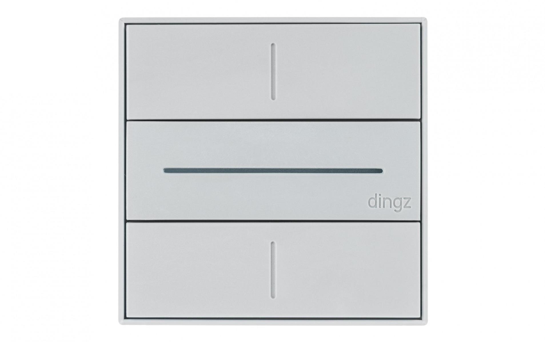 Image of dingz WLAN-Schalter «dingz» UP hellgrau