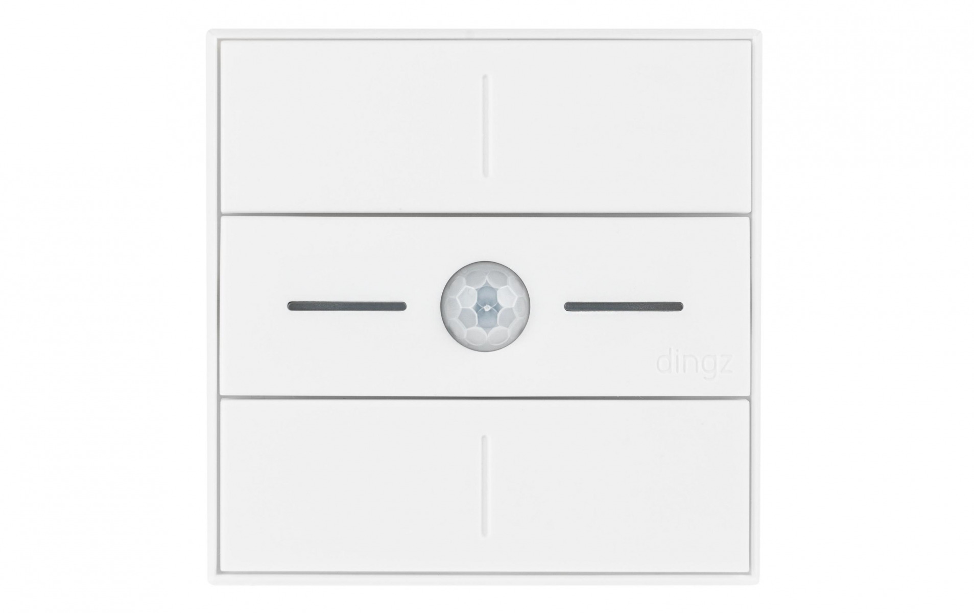 Image of dingz WLAN-Schalter «dingz plus» mit Bewegungsmelder UP weiss