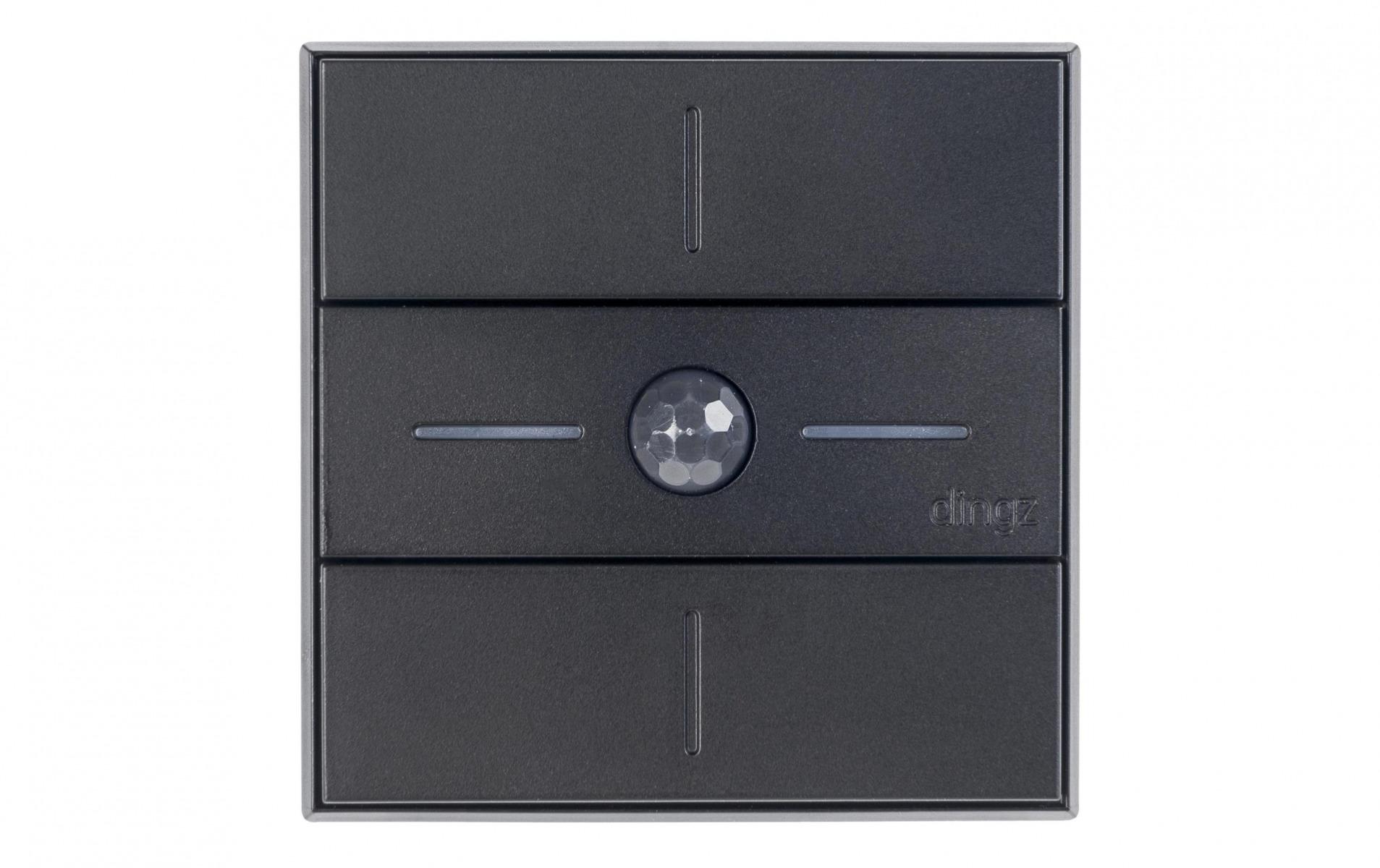 Image of dingz WLAN-Schalter «dingz plus» mit Bewegungsmelder UP schwarz