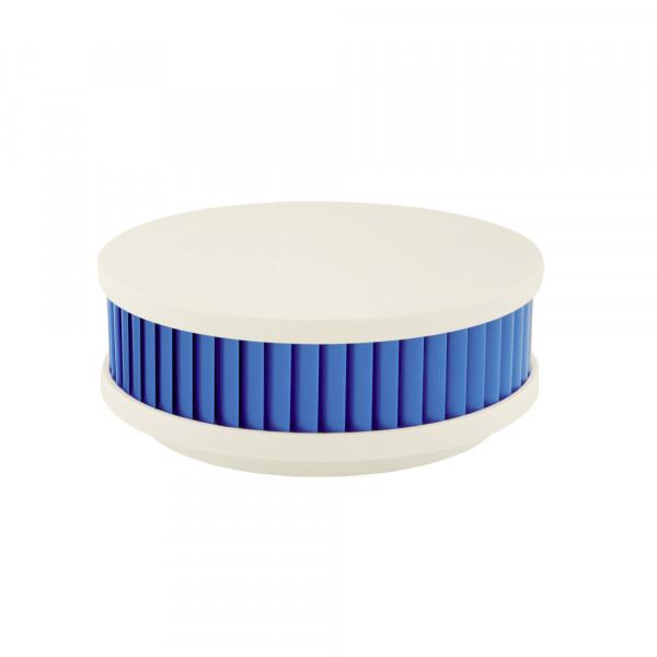 Détecteur de fumée hybride PX-1, blanc/aqua bleu