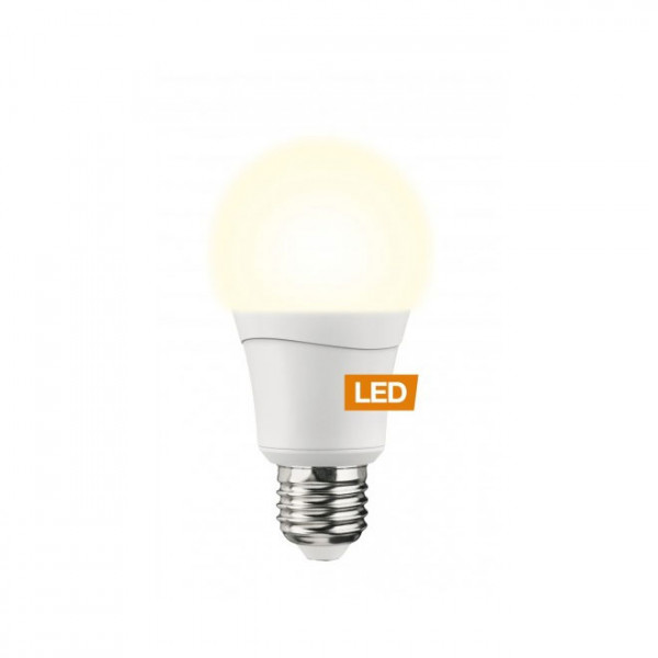 LEDON LED bulb, A60, 8.5W, E27, Double-Click
