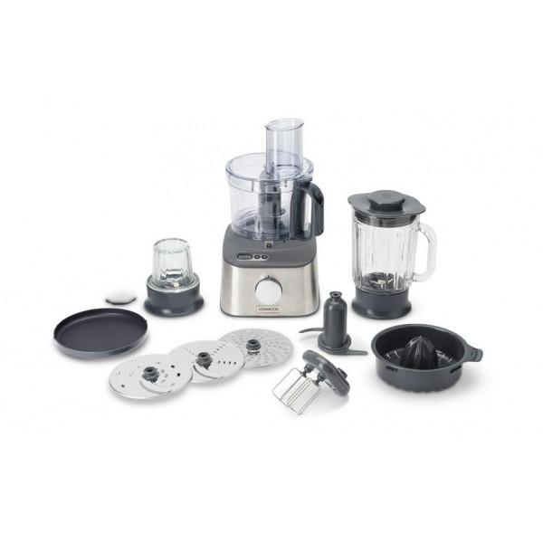 Kenwood Küchenmaschine Multipro Compact + FDM313SS Silber