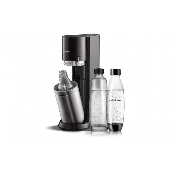 Sodastream Wassersprudler DUO Schwarz/Silber