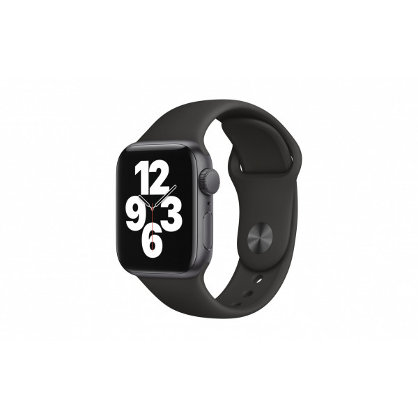 Apple Watch SE 40mm GPS Spacegrau Sport Schwarz