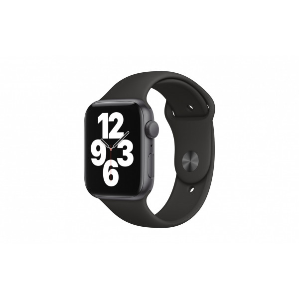 Apple Watch SE 44mm GPS Spacegrau Sport Schwarz