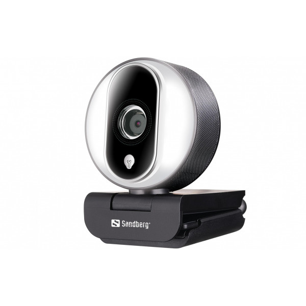Sandberg Streamer Pro USB Webcam 1080P 30 fps