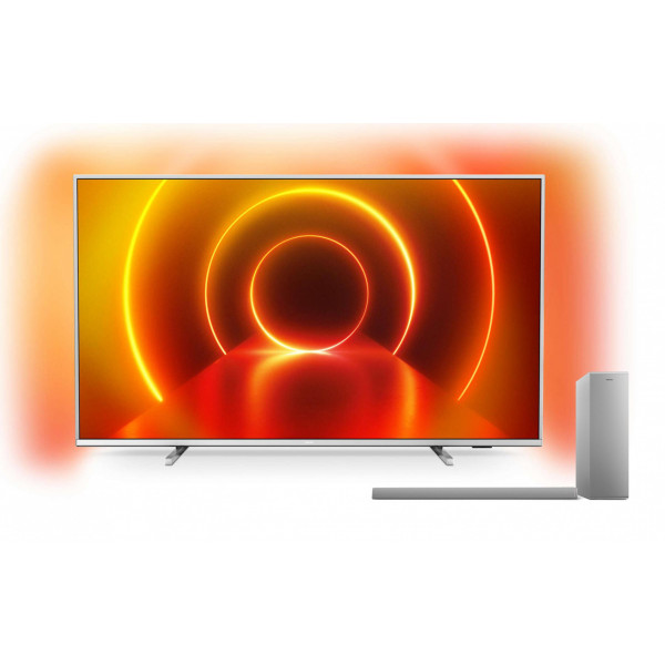 Philips TV 75PUS7855/12 inkl. Soundbar und Subwoofer TAB6405/10