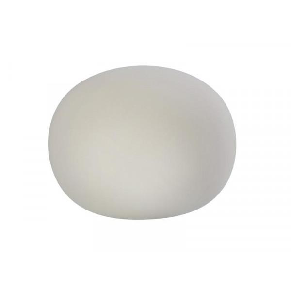 SOMPEX Tischleuchte Oval 1x E14 24 cm, Weiss