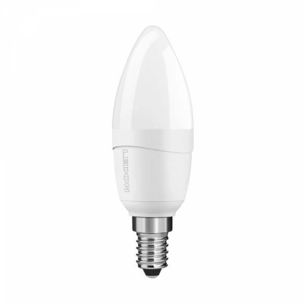 LEDON LED Lamp: Candle, B35, 5W, matt