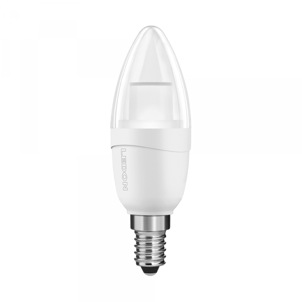 Lampe LED LEDON : Bougie, B35, 5W, lumière de bougie