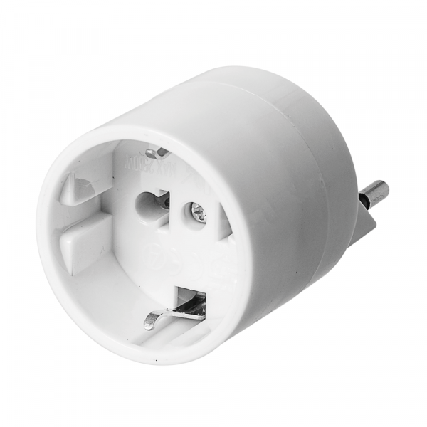 Europe – Switzerland adaptor with fuse