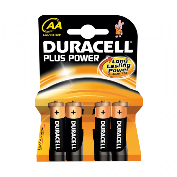 Duracell Plus Power, 1.5 V, AA