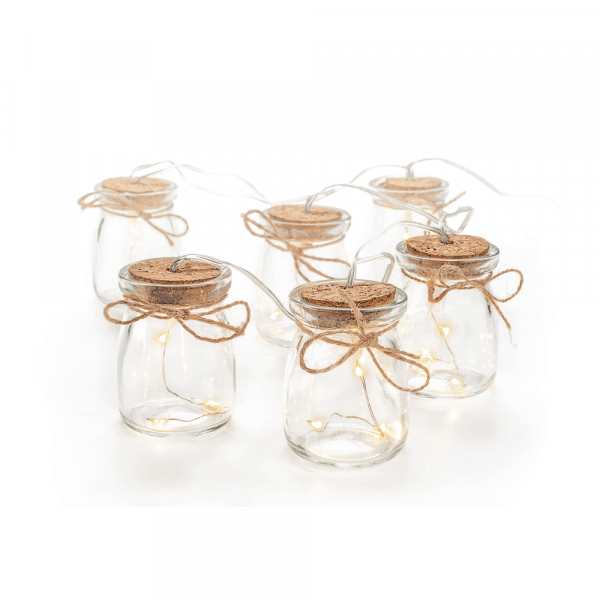 Battery Glass Jar