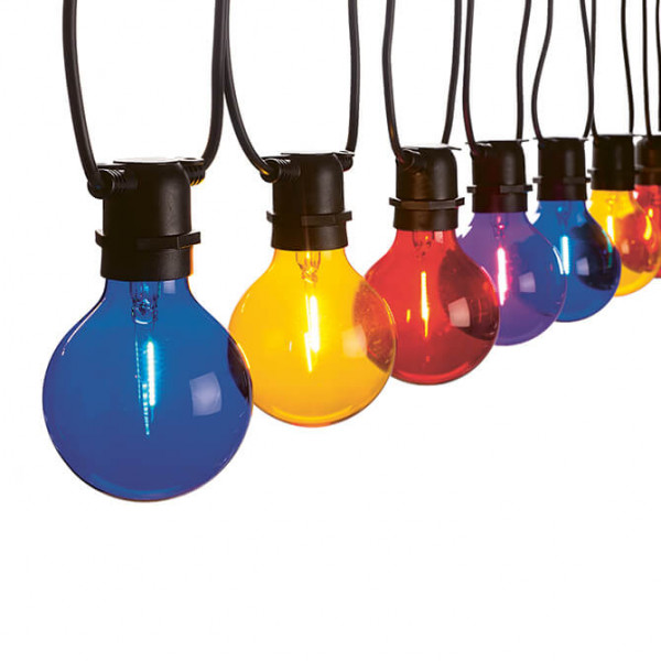 Guirlande lumineuse Vintage Partylight multicolore (In- & Outdoor)