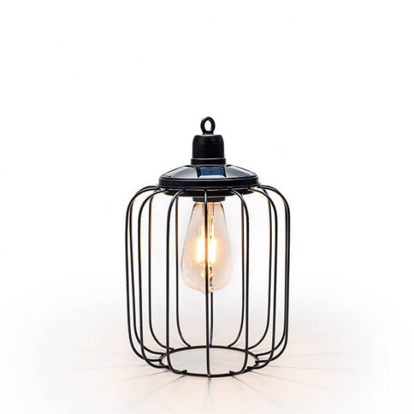 Gartenlampe im Industry Design solarbetrieben, tropfen (In- & Outdoor)