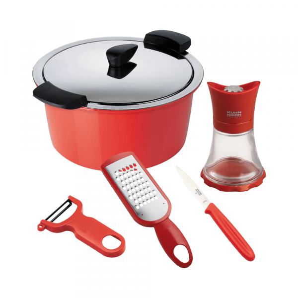 HOTPAN® 2l starter kit, red