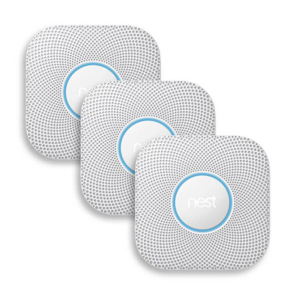 Google Nest Funk-Rauchmelder PROTECT 3 Stück
