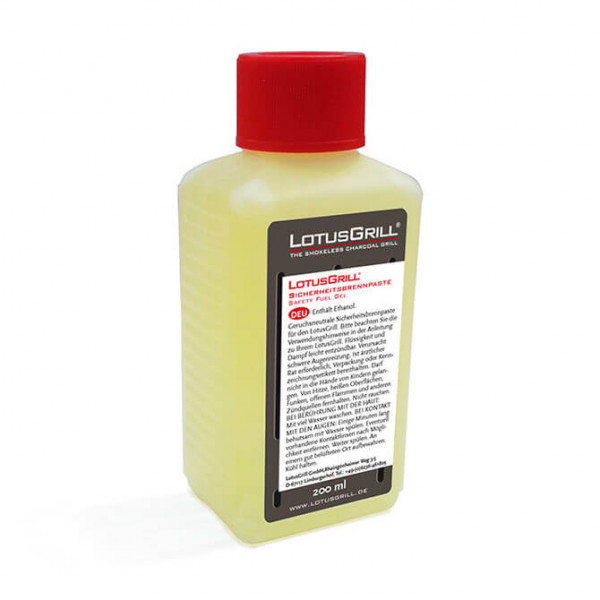 LotusGrill safety fuel gel 200 ml
