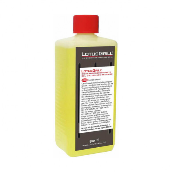 LotusGrill safety fuel gel 500ml