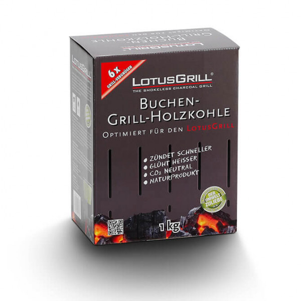 LotusGrill beech wood charcoal 1 kg