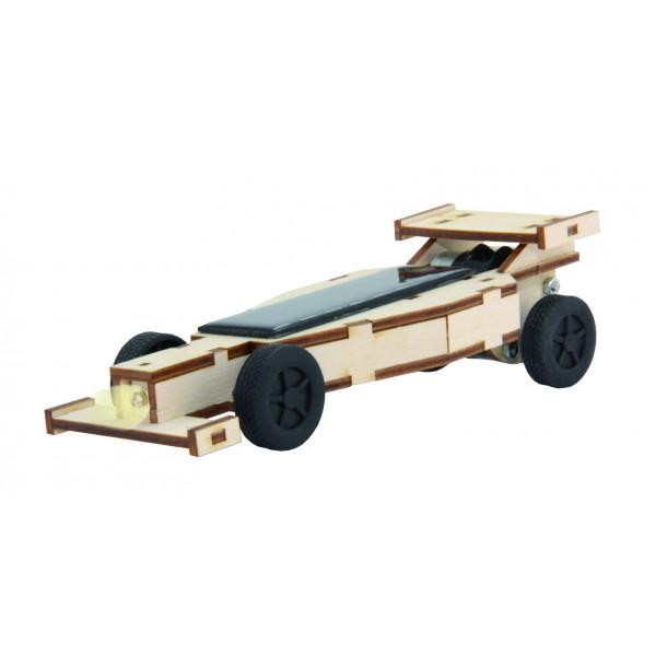 Solar racing car