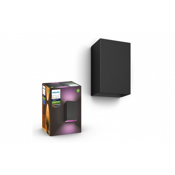 Philips Hue Wandleuchte Resonate 17464/30/P7 Schwarz