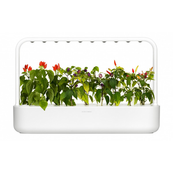 Click and Grow Kräutertopf Smart Garden 9 Weiss