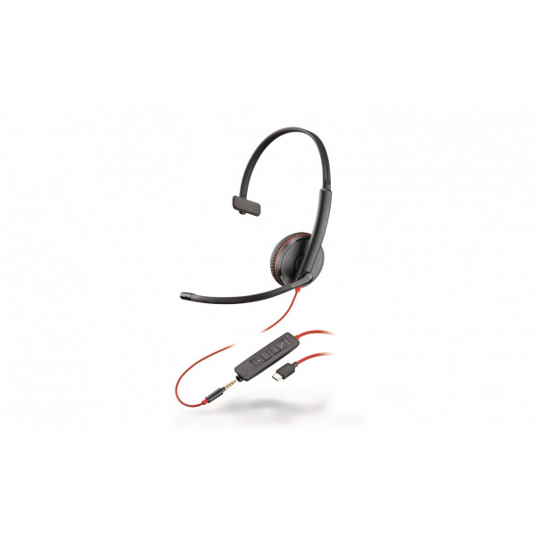 Poly Headset Blackwire 3215 USB-C Mono