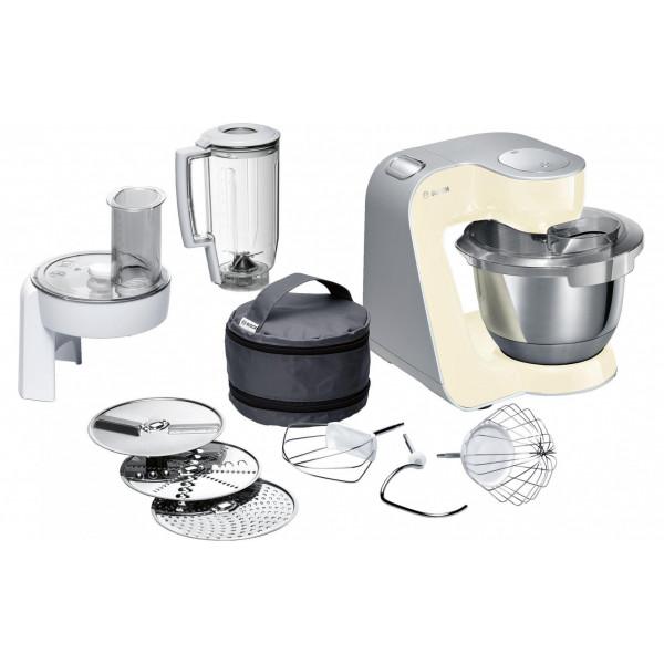 Bosch Küchenmaschine MUM58920 Crème/Silber