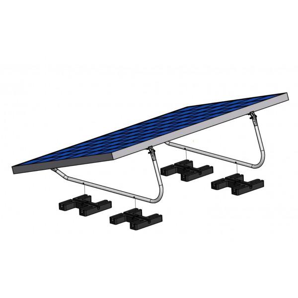 Kit de montage Solar-pac pour toit plat