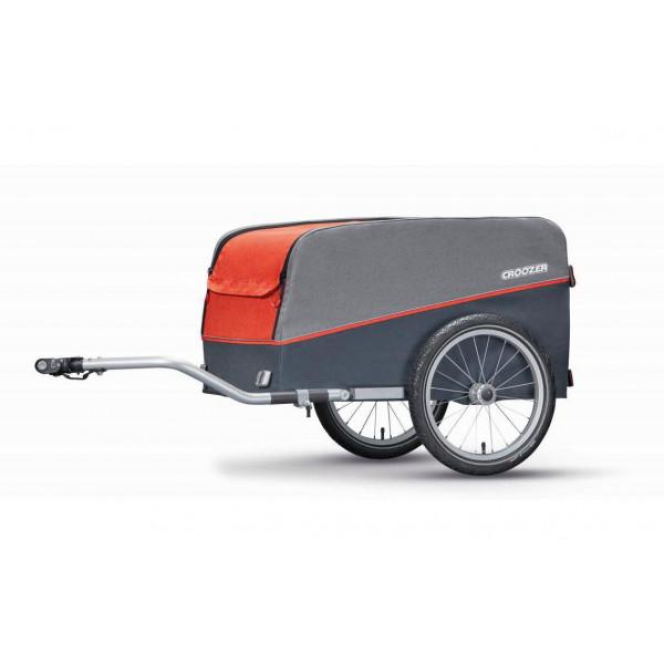 Croozer bike trailer Cargo Pakko Campfire Red