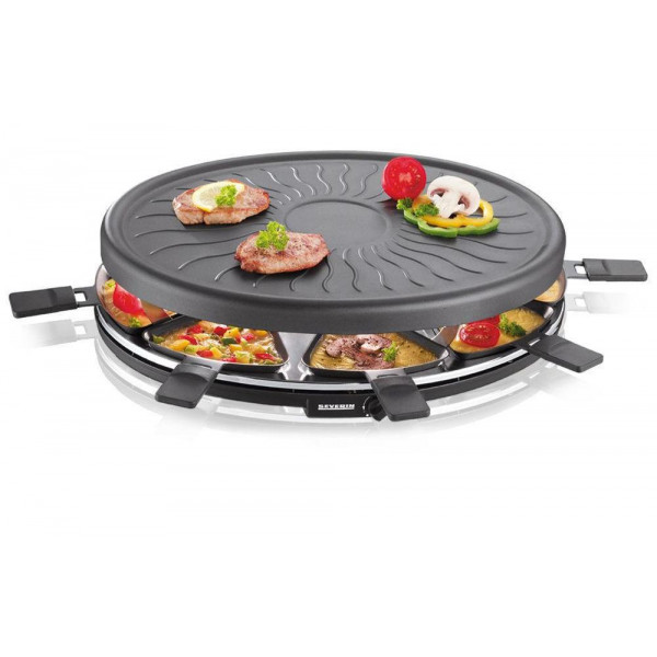 Severin Raclette-Grill RG 2681 8 Personen