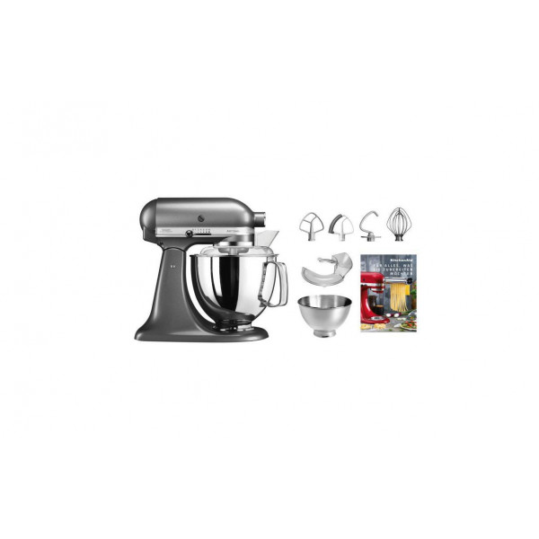 KitchenAid Küchenmaschine KSM200 Anthrazit
