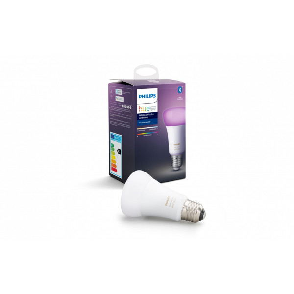 Philips Hue Leuchtmittel White & Color Ambiance, 9.5 W, E27, BT