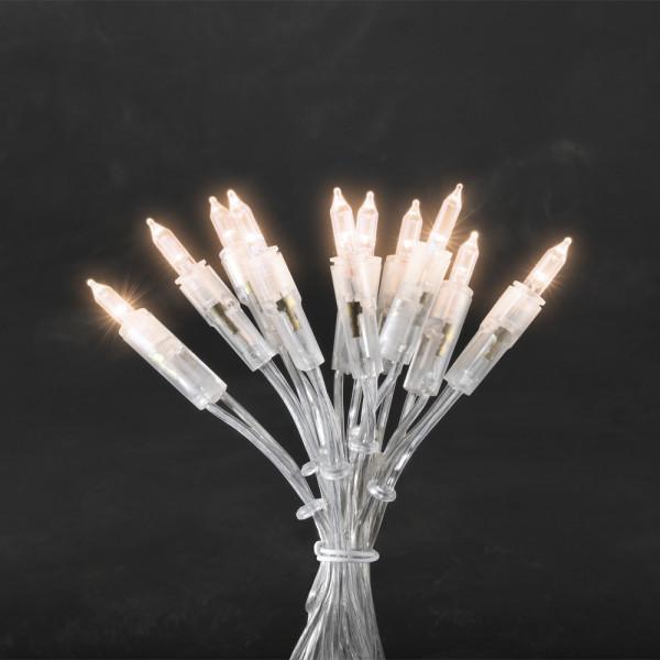Konstsmide LED-Lichterkette 660 cm lang 35 LEDs transparent