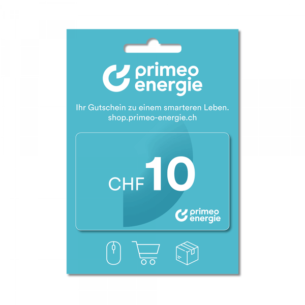 Primeo Energie Gift Card 10.-