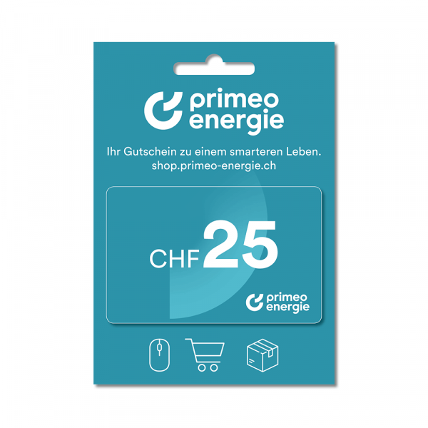 Primeo Energie gift card 25.-