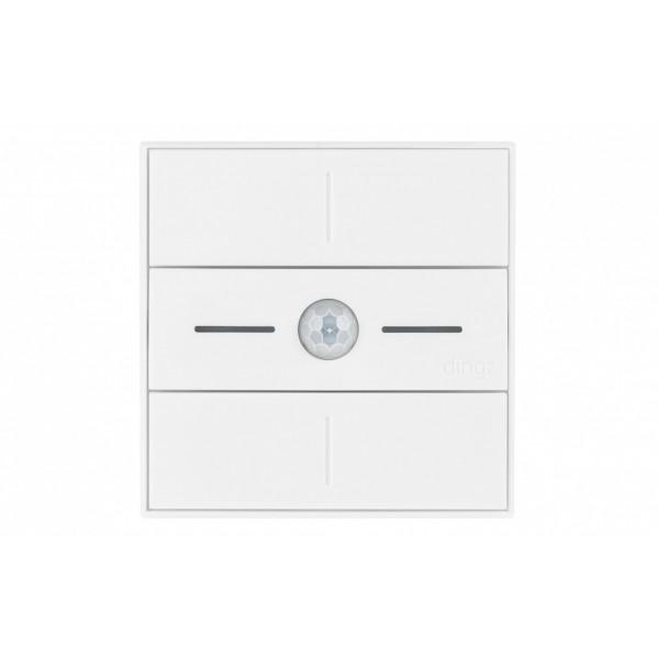 dingz WLAN-Schalter «dingz plus» mit Bewegungsmelder UP weiss