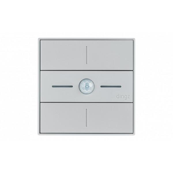 dingz WLAN-Schalter «dingz plus» mit Bewegungsmelder UP hellgrau