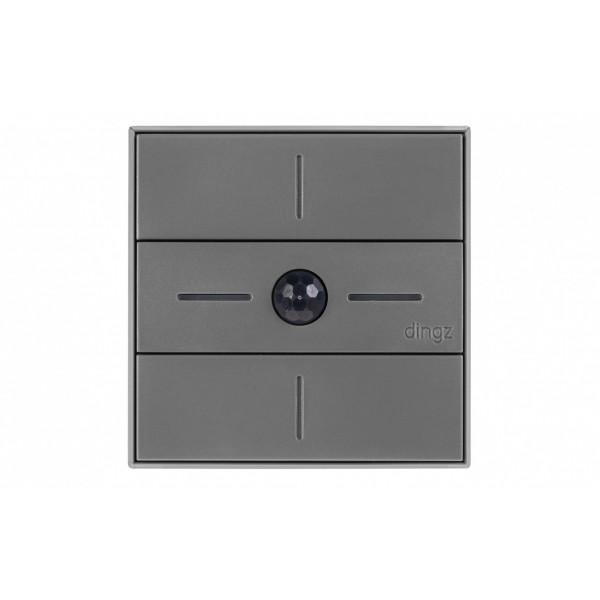 dingz WLAN-Schalter «dingz plus» mit Bewegungsmelder UP dunkelgrau