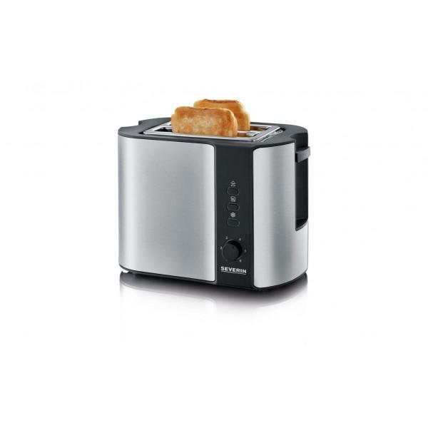 Severin Toaster Automatik AT 2589 Silber