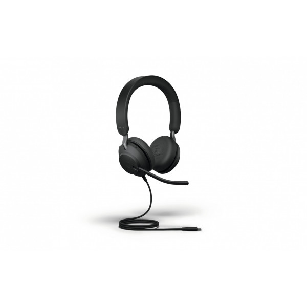 Casque Jabra Evolve2 40 Duo UC Noir, USB-C